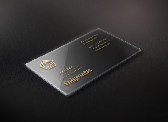 Shiny Business Card