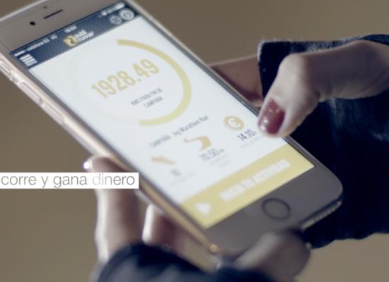 Diseño app Publi Runner y comunicación de su lanzamiento