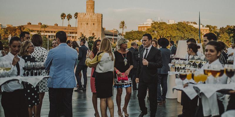 Evento de presentación restyling de marca Puerto de Indias. Sevilla
