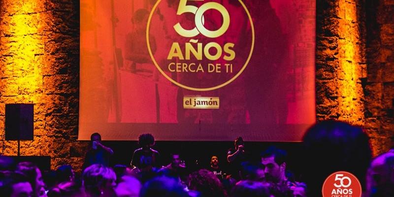 """Vértigo Comunicación se ocupa del evento para conmemorar el 50 aniversario de los supermercados """"El Jamón"""""""