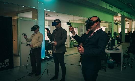 Realidad Virtual inauguración Media Interactiva