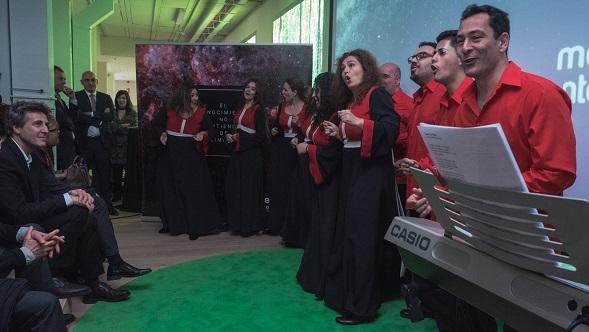 South Gospel Sevilla inauguración Media Interactiva