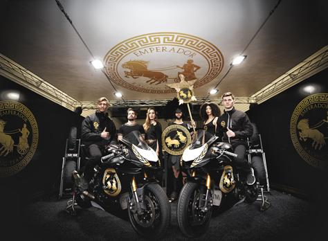 Presentación del equipo de motociclismo Emperador Racing Team
