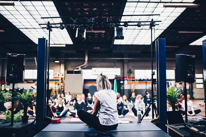 wellness en eventos corporativos
