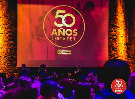 Evento de celebración del 20 aniversario de Supermercados El Jamón